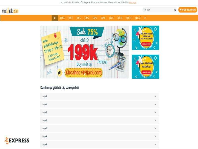 giao-dien-trang-web-vietjack-35express