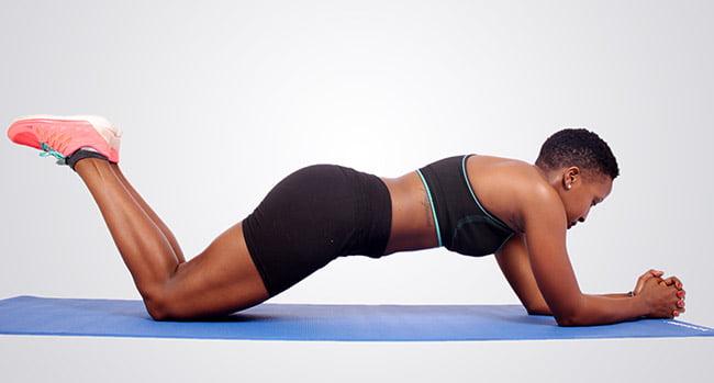 knee-plank