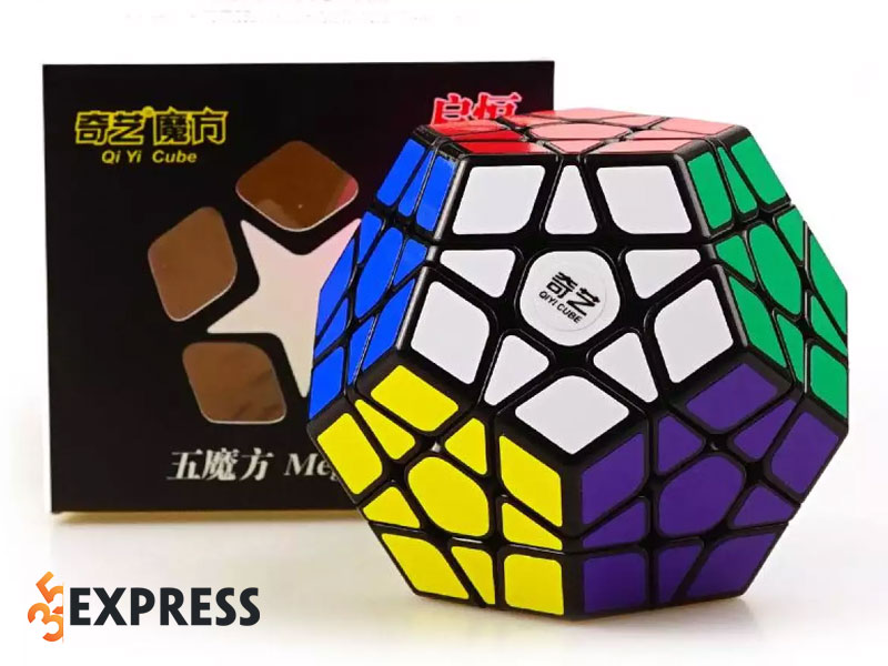 rubik-12-mat-megaminx-qiyi-black-35express